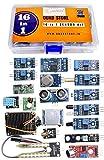 Quad Store QS16in1 Sensor Modules Kit for Arduino Uno R3, Mega 2560, Raspberry
