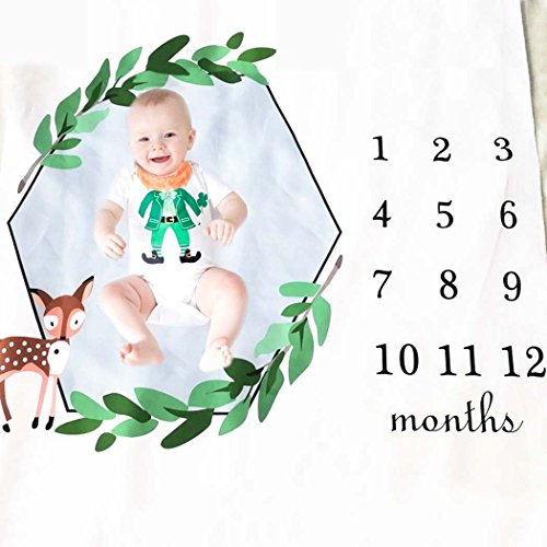 Zoylink Couverture Photo Infantile, Baby Photo Couverture Photographie Backdrop Photo Prop Couverture
