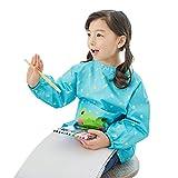 Delantal de los ni?os de la pintura del arte impermeable del beb¨¦, blusa de los delantales de la cocina con las mangas