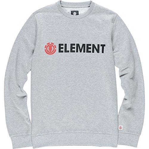 Element Herren Pullover Sweatshirt Blazin Crew Neck Grau