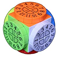 XWDQ Third-Order Cube 3x3 Smooth Speed Puzzle Time Machine Complex Structure Cube
