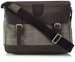 Strellson Swiss Cross Messenger LH 4010001150 Herren Messengertaschen 39x31x9 cm (B x H x T), Grau (dark grey 802)