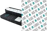 Parfum Fur la–Armoire Papier–Tapis de tiroir de l'armoire Fresh Cotton–59x 42cm Pro feuilles de papier–6feuilles–Kiss Me, Hug Me, Cuddle Me–Parfum Armoire–schubladenpapier