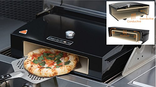 Bakerstone Pizza Oven Sits on your Gas BBQ Large 14