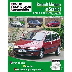 Revue Technique 119.1 Renault Megane et Scenic Es/Die Jusqu'a 99