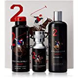 Beverly Hills Polo Club Gift Set 2 for Men (Eau De Toilette, Body Wash and Deodorant)