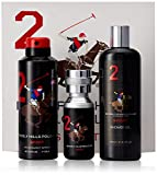 #2: Beverly Hills Polo Club Gift Set 2 for Men (Eau De Toilette, Body Wash and Deodorant)