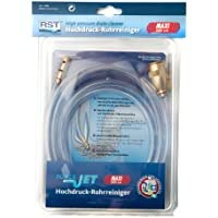 RST 1308 - Herramienta neumáticas para limpieza de desagües (plástico), color: transparente
