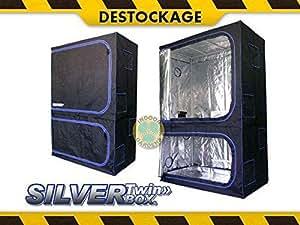Silver Twin-Box 138x70x200cm - MYLAR 600D