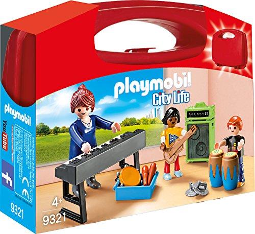 PLAYMOBIL- Maletín Clase de Música Juguete