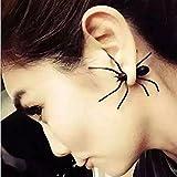 ILOVEDIY Boucles d'oreilles Fantaisie Araignée Costum Halloween Déguisement Femme Fille (1Paire)