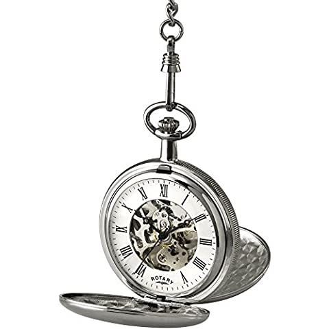 Rotary Men's Skeleton Pocket Watch - MP00726/01