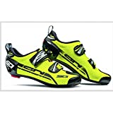 SHOES SIDI T 4 AIR CARBON YELLOW FLUO BLACK N°44
