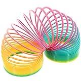 MIK Funshopping Regenbogenspirale Physikspielzeug Rainbow Springy Ø 10 cm