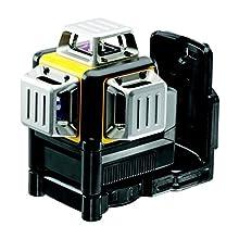 DeWalt DCE089LR-XJ Multi-Line Laser 3 x 360° Red Batteries, Black/Yellow