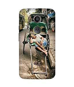 Rickshaw Wala Motorola Moto X2 Case