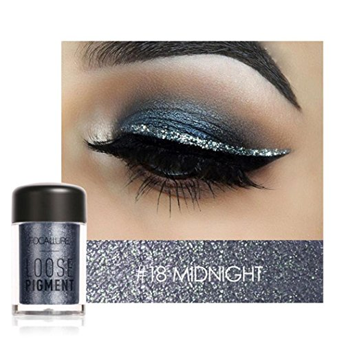 Sparkly Lidschatten SOMESUN Augen Makeup Perle Metallic Lidschatten-Palette (#18)