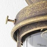 Außenleuchte Messing Premiumqualität Bronze Antik Glasschirm Handarbeit E27 Wandlampe Außenwandleuchte - 6