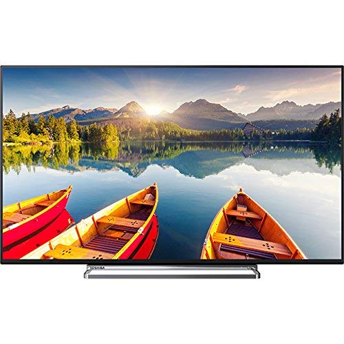Toshiba 43U6863DB 43in 4K Ultra HD Smart TV Wi-Fi Black LED TV - LED TVs (109.2 cm (43in), 3840 x 2160 pixels, Direct-LED, Smart TV, Wi-Fi, Black) (Renewed)