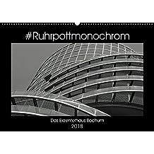 #Ruhrpottmonochrom - Das Exzenterhaus Bochum (Wandkalender 2018 DIN A2 quer): Ein Monatskalender mit 12 spannenden Motiven eines der wohl ... (Monatskalender, 14 Seiten ) (CALVENDO Orte)