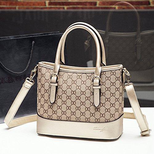 Damen Bag TSLX Tasche Golden Handtasche Europa wUUqCAR