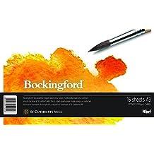 Bockingford WD510256 - Bloc encolado con papel para acuarela, tamaño DIN A3