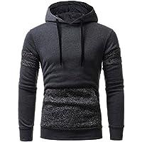 IMJONO Herren Sweatshirt Oberteile Jacke Outwear