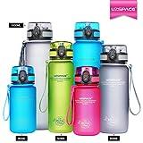 Die besten Eco Friendly Trinkflaschen - Uzspace Trinkflasche - Sports Wasserflasche - 350ml-500ml-650ml-1L Bewertungen