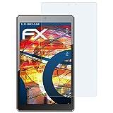 atFolix Schutzfolie kompatibel mit Haier Pad W800 Panzerfolie, ultraklare & stoßdämpfende FX Folie (2X)