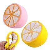 PerGrate Juguete de descompresión para niños, lindo, jumbo, limón,...