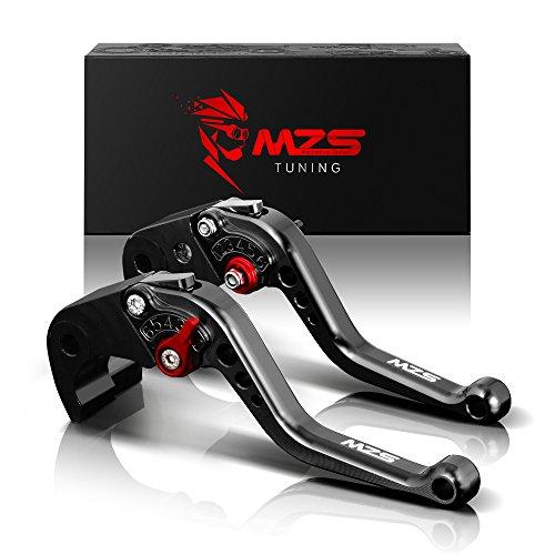 MZS nero frizione freno corto Leve per BMW K1600 GT/GTL 2017-2018,R1200R/R1200RS 2015-2018,R1200RT/R1200GS Adventure (LC) 2014-2018,R nine T 2014-2017