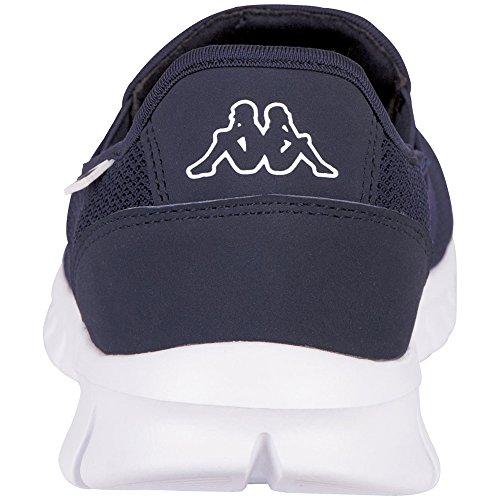 Kappa Unisex-Erwachsene Taro Sneaker Blau (6710 Navy/White)
