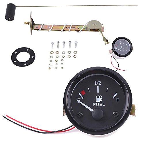 """Sedeta® 2 """"52MM Zeiger-Vorwahlknopf-Auto-LKW-Berg-Öl-Kraftstoff-Hebel-Messgerät-Meter Mit Öl-Schwimmer"""