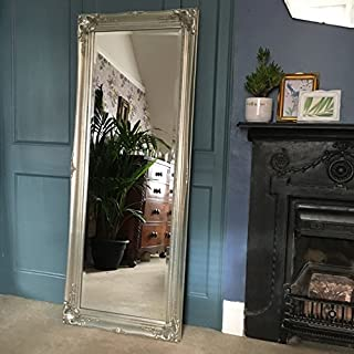 Ayers and Graces Full Length Classic Silver Swept Mirror (1ft 11