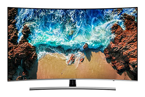 Samsung NU8509 138 cm (55 Zoll) Curved LED Fernseher (Ultra HD, Twin Tuner, HDR Extreme, Smart TV) (55 3d-led-smart-tv Samsung)