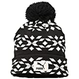 PUMA Mütze Graphic Beanie, Eggnog White-Black, OSFA, 834028 01