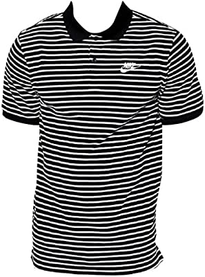 Nike M Nsw Polo Pq Strp Mni Mchp - Camiseta de manga corta para hombre