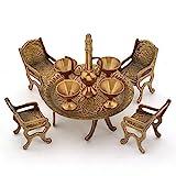 Ethnic Arts Unique Design Dining Table C...