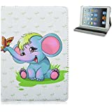 Apple iPad 2, 3, 4–Carcasa Kids Disney dibujos animados Frozen Princess Patrón Stand Up Folio–Funda con tapa para iPad 2, 3y 4