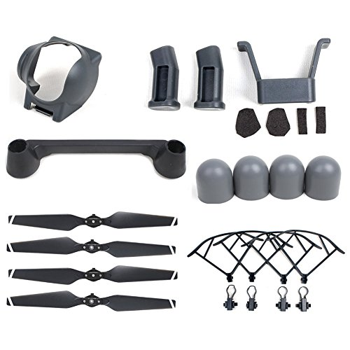 dji-mavic-pro-6pcs-accessoires-kit-quick-release-propeller-propeller-guards-landing-gear-set-lens-ho
