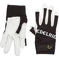 EDELRID Kletterhandschuhe Work Gloves Close - Guantes para hombre, color blanco, talla M