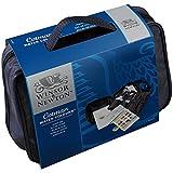 Winsor & Newton - Acuarela Cotman - Bolsa de viaje, caja 12 medio godets, pincel, 1 bloc y accesorios