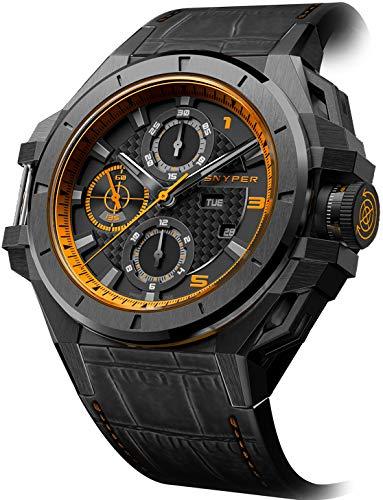 Snyper Ironclad 5027000SP 50.270.00SP - Cronografo automatico da uomo, 44...