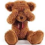 Dis gigante/imán de gran/grande tímidos oso de peluche Animal, 4tamaños, 3colores