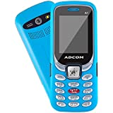 Adcom A1 Selfie - Dual Sim Mobile Phone With Selfie Camera - (1.8 Inch Display, 1050 MAh Battery, Sky Blue)