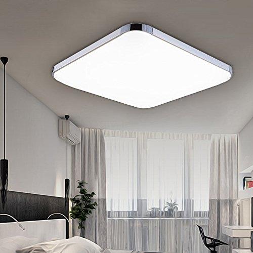 Hengda® 24W LED Deckenleuchte Weiß 2160LM Kinderzimmer Wand-Deckenleuchte IP44 Badezimmer geeignet Markantes Design