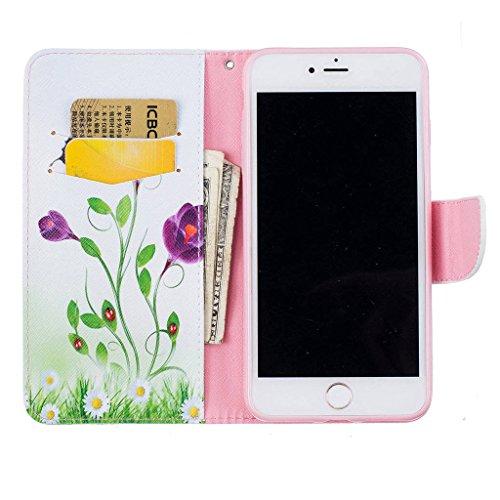 """iPhone 7 Plus Coque, ONLY pour 5.5"""" iphone 7 Plus Housse - MYTHOLLOGY avec Support Housse PU Cuir Étui à rabat Portefeuille Antichoc Cover - XH LHD"""