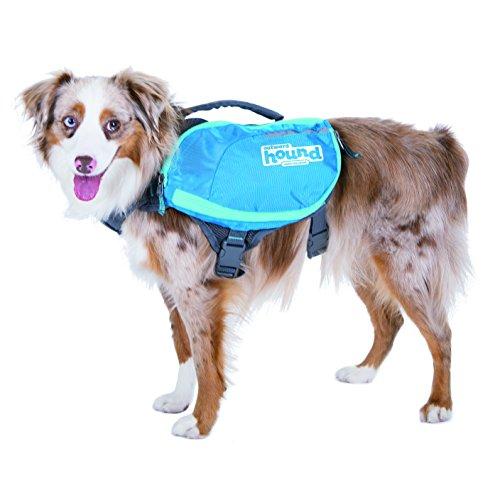 Kyjen 22003 Outward Hound DayPak Hunde-Rucksack Tasche im Satteltaschenstil, verstellbar, Größe M, blau -