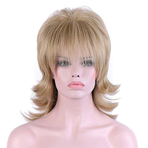 La perruque de dame longue bouclée naturelle chimique de soie de haute température peut être chaude colorée
