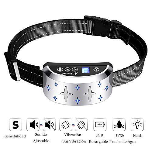 Collar Antiladridos Recargable Perros - Collar Adiestramiento